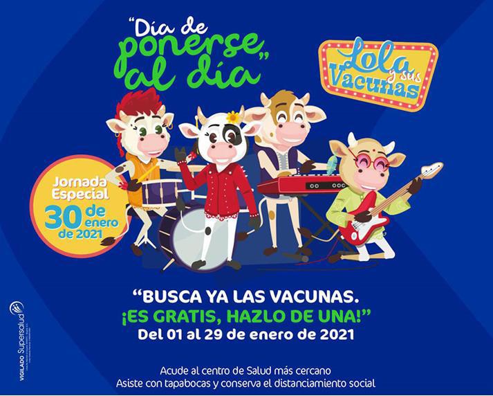 Jornada Especial de Vacunación 2021